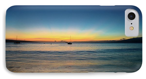 IPhone Case featuring the photograph Sunset On Ka'anapali Beach by Kelly Wade
