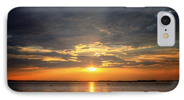 IPhone Case featuring the photograph Sunset On Lake Hartwell by Lynne Jenkins