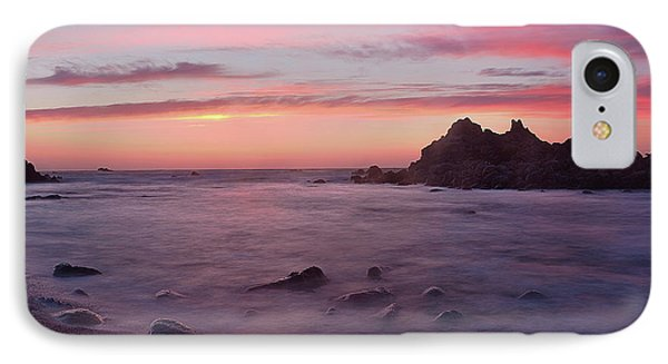 Sunset On Monterey Bay IPhone Case by Dana Sohr