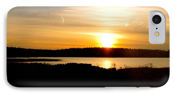 Sunset On Morrison Beach IPhone Case