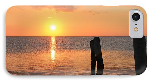 IPhone Case featuring the photograph Sunset On Pimlico Sound by Laurinda Bowling