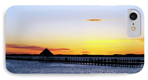 Sunset On The Bay IPhone Case by Elsa Marie Santoro