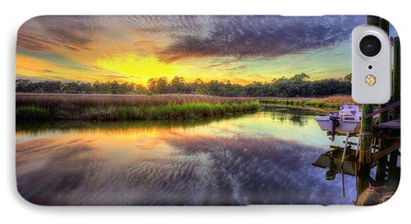 Sunset On The Bayou IPhone Case