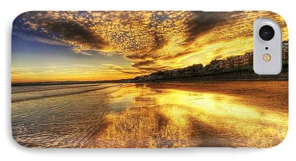 Sunset On The Beach IPhone Case by Svetlana Sewell