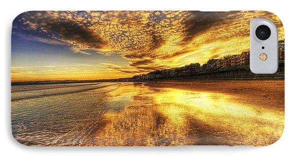 Sunset On The Beach Phone Case by Svetlana Sewell