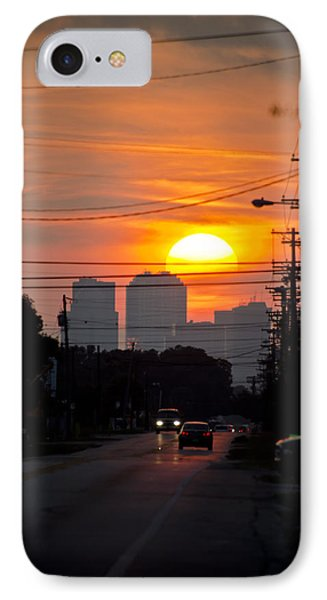 Sunset On The City IPhone Case