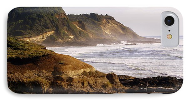 Sunset On The Coast Phone Case by Marty Koch