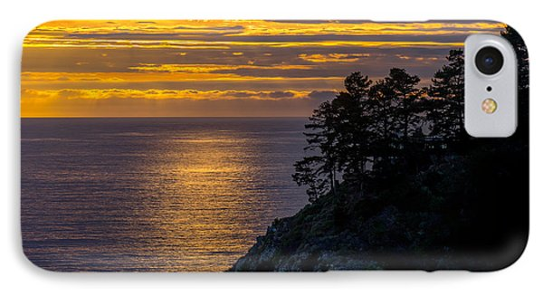 Sunset On The Edge IPhone Case
