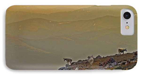 IPhone Case featuring the photograph Sunset On The Edge by Scott Mahon