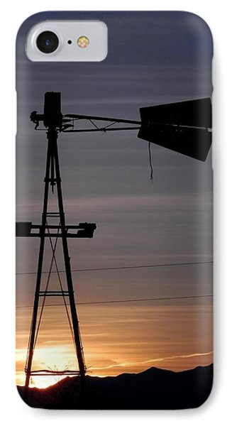Sunset On The Farm Phone Case by Adrienne Petterson