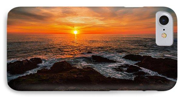 Sunset On The Horizon IPhone Case