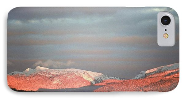 IPhone Case featuring the photograph Sunset On The Monashees by Victor K
