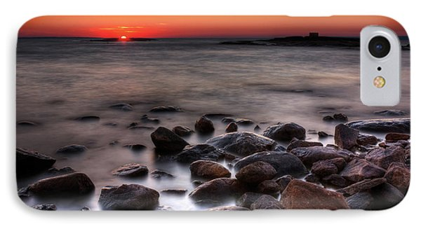 Sunset On The Rocks Phone Case by Brian Boudreau