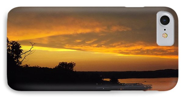 Sunset On The Shore  IPhone Case