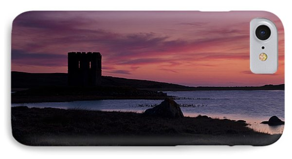 IPhone Case featuring the photograph Sunset On Uist by Gabor Pozsgai