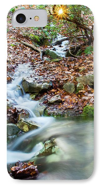 IPhone Case featuring the photograph Sunset Over An Oak Mountain Stream by Parker Cunningham