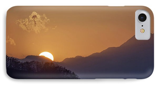 IPhone Case featuring the photograph Sunset Over Asia  by Rikk Flohr