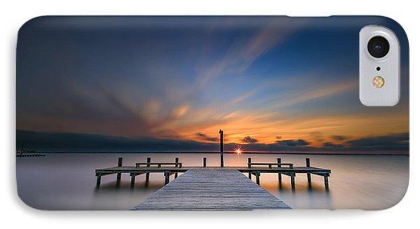 Sunset Over Barnegat Bay IPhone Case