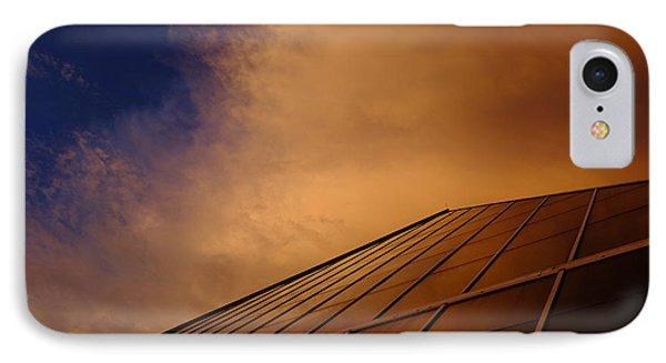 Sunset Over Bass Pro Shop In Memphis Tennessee IPhone Case by T Lowry Wilson