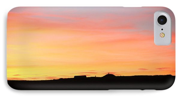 IPhone Case featuring the photograph Sunset Over Cairnpapple by RKAB Works