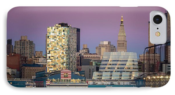 IPhone Case featuring the photograph Sunset Over Chelsea by Eduard Moldoveanu