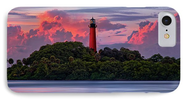 IPhone Case featuring the photograph Sunset Over Jupiter Lighthouse, Florida by Justin Kelefas