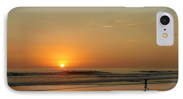 Sunset Over La Jolla Shores Phone Case by Christine Till