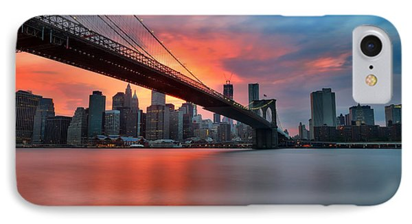 Sunset Over Manhattan IPhone 7 Case