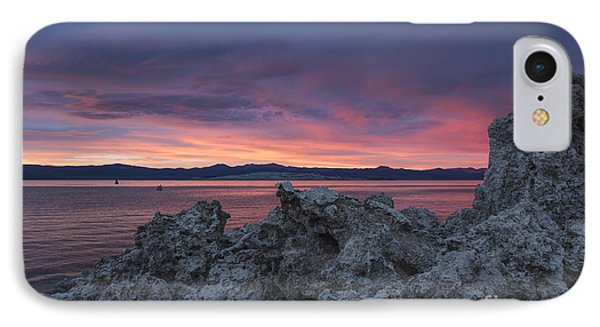 IPhone Case featuring the photograph Sunset Over Mono Lake by Sandra Bronstein