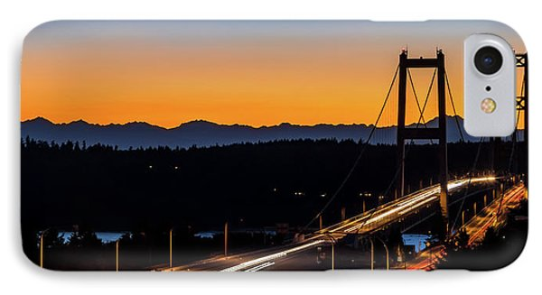 Sunset Over Narrrows Bridge Panorama IPhone Case by Rob Green