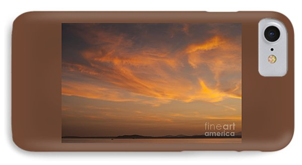 Sunset Over Puget Sound IPhone Case by Jim Corwin