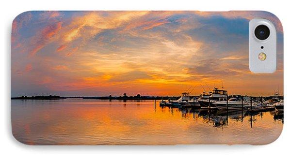 Sunset Over Shrewsbury Bay IPhone Case