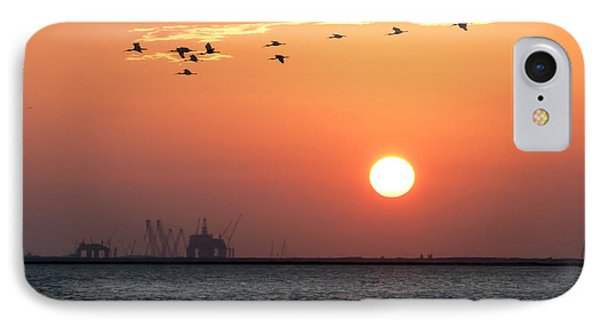 Sunset Over The Bay IPhone Case