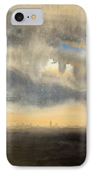 Sunset Over The City IPhone Case by Andrew King
