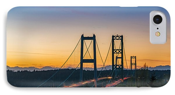 Sunset Over The Narrows IPhone Case by Ken Stanback