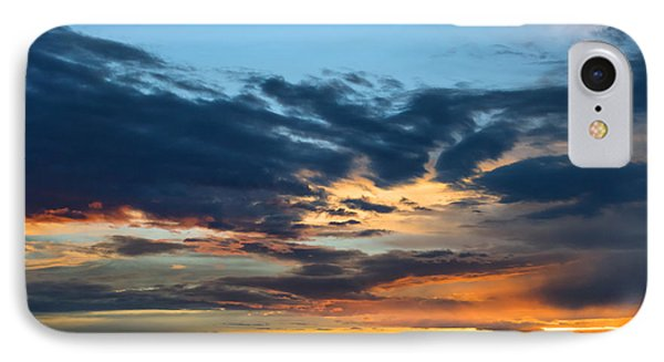 Sunset Over The Plains Of The Texas Panhandle 1 IPhone Case