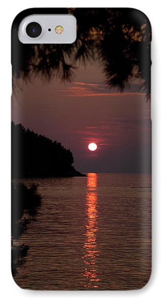 Sunset Over The Sea - Croatia IPhone Case