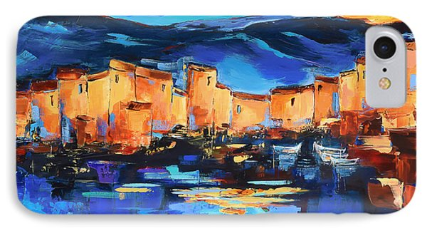 Sunset Over The Village 2 By Elise Palmigiani IPhone Case