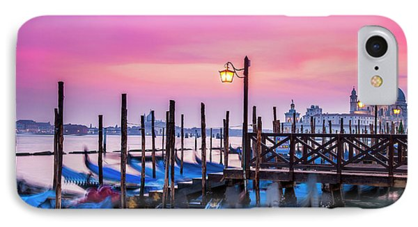 IPhone Case featuring the photograph Sunset Over Venice by Andrew Soundarajan