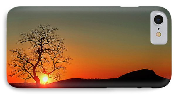 IPhone Case featuring the photograph Sunset Over Virginia by Darren Fisher
