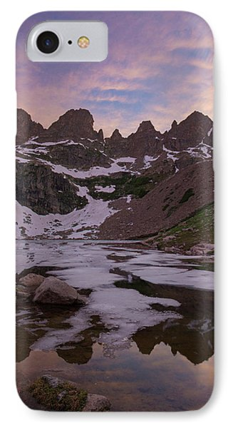 Sunset Over Willow Lake IPhone Case