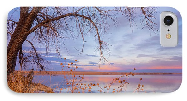 IPhone Case featuring the photograph Sunset Overhang by Darren White