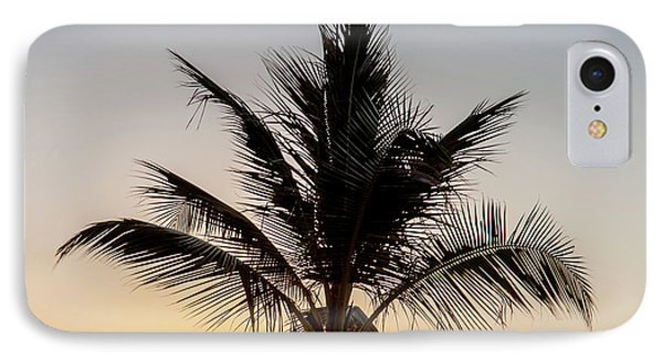 IPhone Case featuring the photograph Sunset Palm by Az Jackson