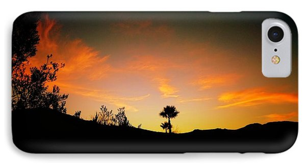 Sunset - Palm Mountain IPhone Case
