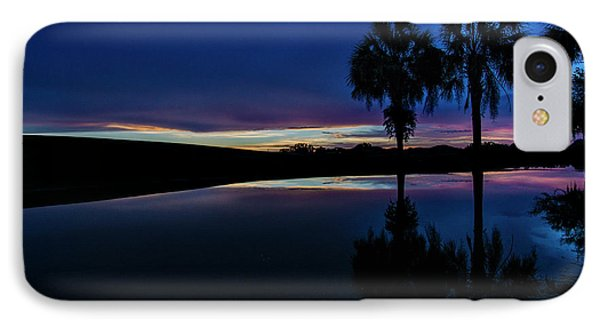 IPhone Case featuring the photograph Sunset Palms by Brian Jones