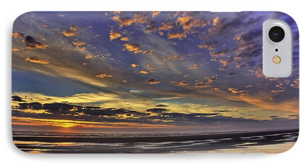Sunset Paradise  IPhone Case by Tyra  OBryant