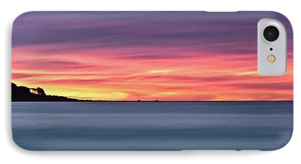 Sunset Penisular, Bunker Bay IPhone Case by Dave Catley