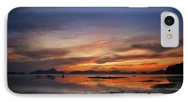 Sunset Pi IPhone Case