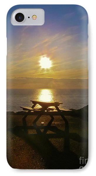 Sunset Picnic Phone Case by Terri Waters
