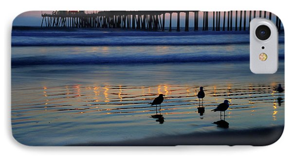 Sunset Pier IPhone Case by Pierre Leclerc Photography